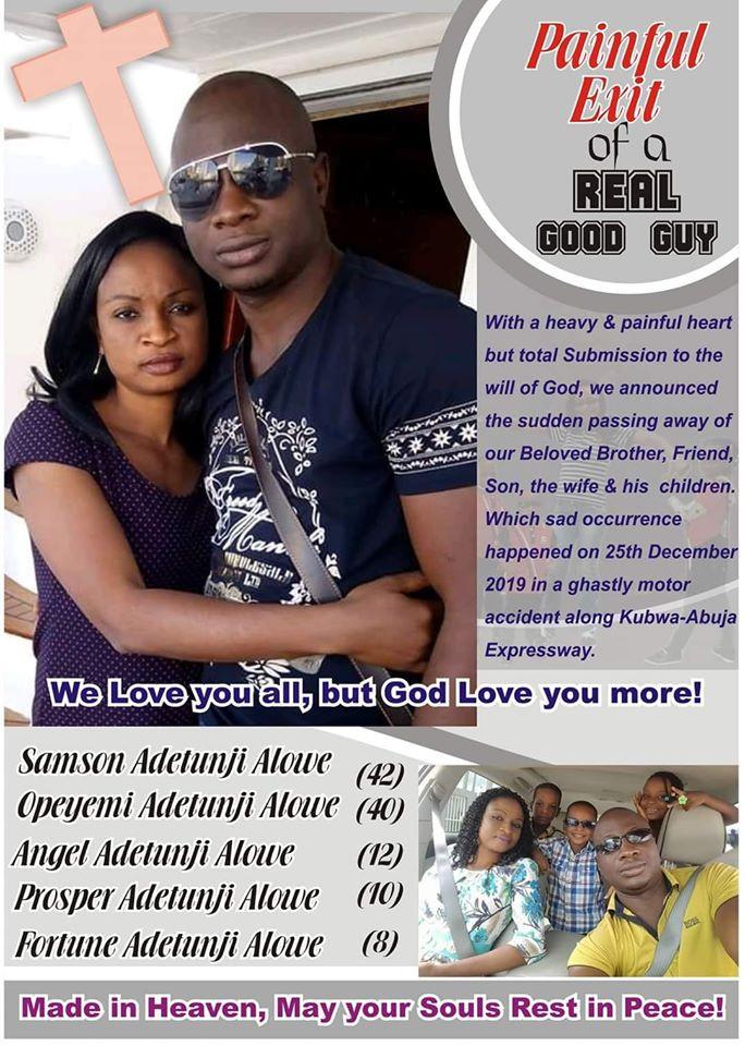 Samson Adeyemi and family