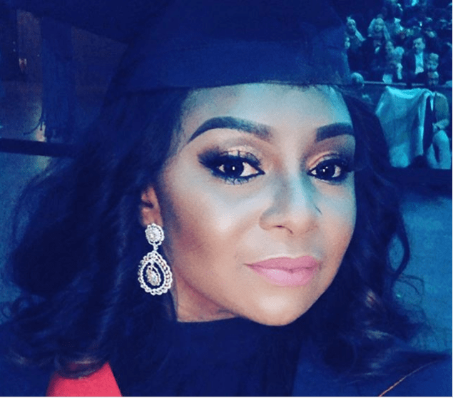 Victoria Inyama Celebrates As She Graduates From University