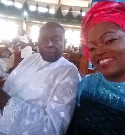 Funke Akindele And Siblings Boycott Their Father's Burial