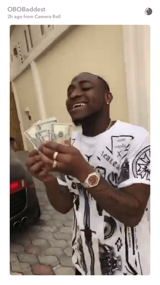 Davido Regrets As He Bashes His Bentley (Video)