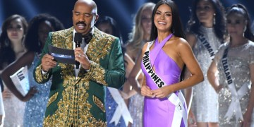 Steve Harvey Announces Wrong Miss Universe Costume Winner
