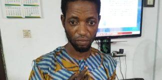 The suspect, Taofeek Oyeyemi