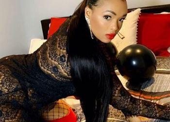 Wizkids Babymama, Binta Diallo Twerks Heavily In Skimpy Outfit (Video)
