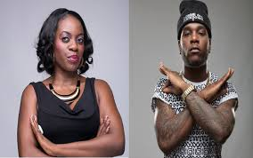 Shade Ladipo and Burna Boy