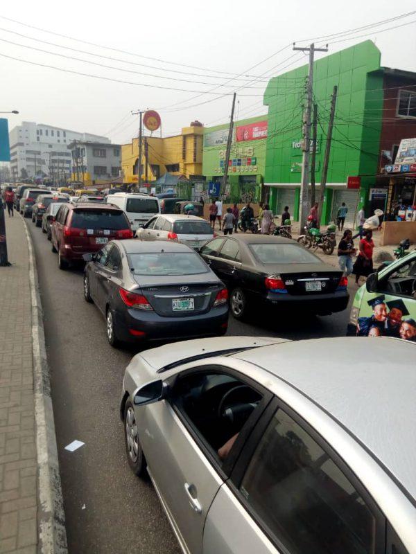 Traffic at Ikeja