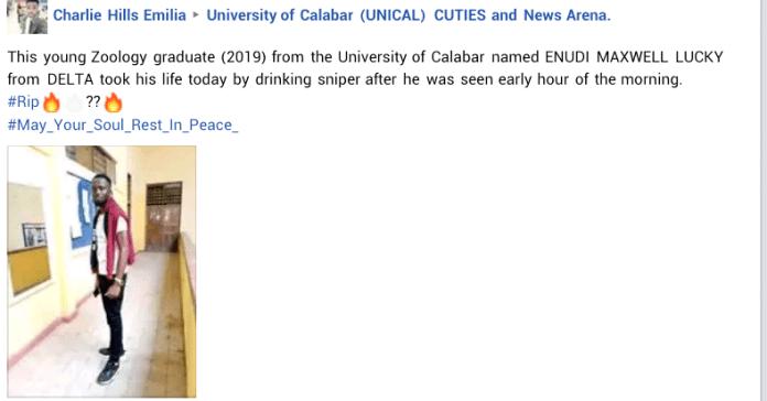 UNICAL Graduate Student