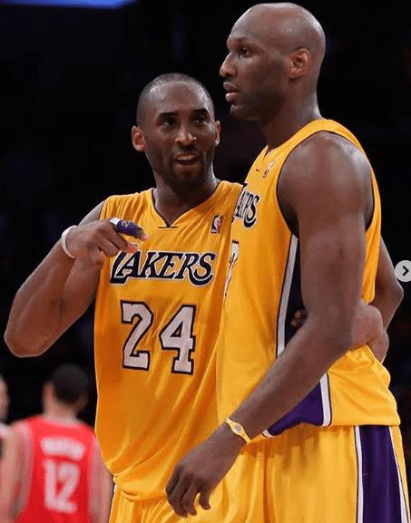 Former NBA Star, Lamar Odom Mourns Kobe Bryant