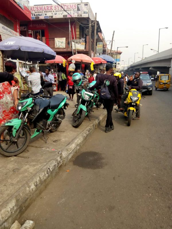 Gokada, Opay Riders at Ikeja