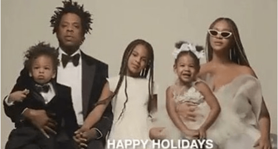 Beyonce, Jay-Z And Kids Pictured Together In New Year Family Photo