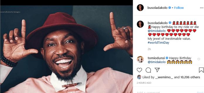 Busola Dakolo's post
