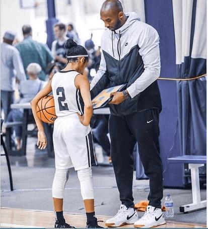 Genevieve Mourns Kobe Bryant, Daughter (Photograph)