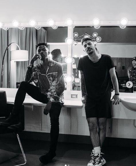 Musicians, Johnny Drille and Jon Bellion