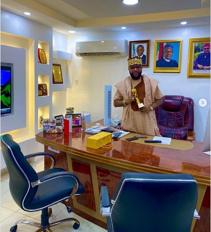 E-Money Named 'Young Business Guru' of 2019 (Picture)