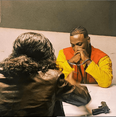 Singer, Peruzzi Arrested And Handcuffed (Photographs)