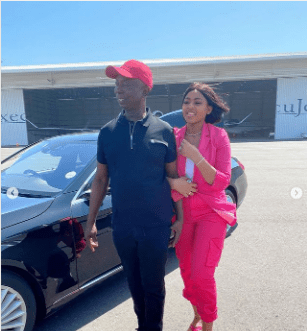 Actress Regina Daniels and husband, Ned Nwoko