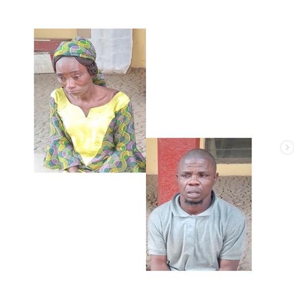 Mr and mrs Olawale