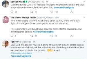 1 26 - Nigerians React As Lagos Records First Case Of Coronavirus