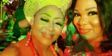 Nollywood Stars Storm Wedding Of Ngozi Ezeonu's Daughter