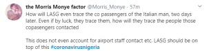 2 22 - Nigerians React As Lagos Records First Case Of Coronavirus