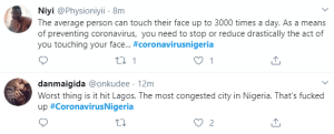 3 11 - Nigerians React As Lagos Records First Case Of Coronavirus