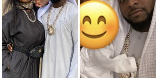 Davido, Chioma and their son, Ifeanyi