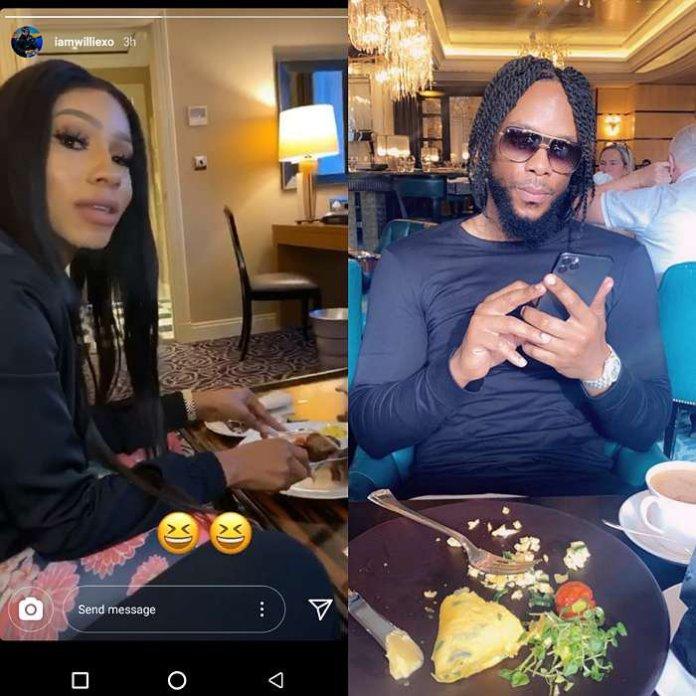 Mercy Eke and rumored boyfriend, Willie X.O