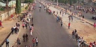 Lagosians trek to work after Okada ban