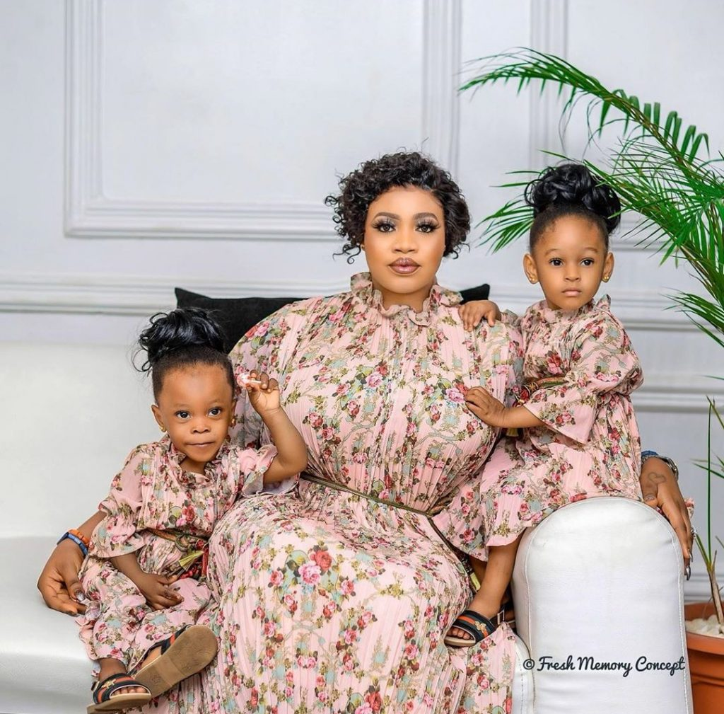 Alaafin Of Oyo's Twin Daughters Celebrate Their 2nd Birthday