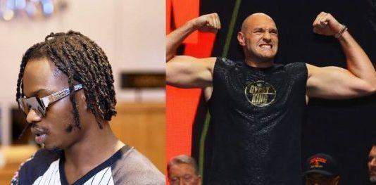 Tyson Fury and Naira Marley