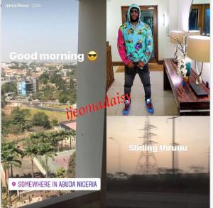 w 7 - Mercy Eke's Rumoured Boyfriend, Willie XO Storms Nigeria (Photo)