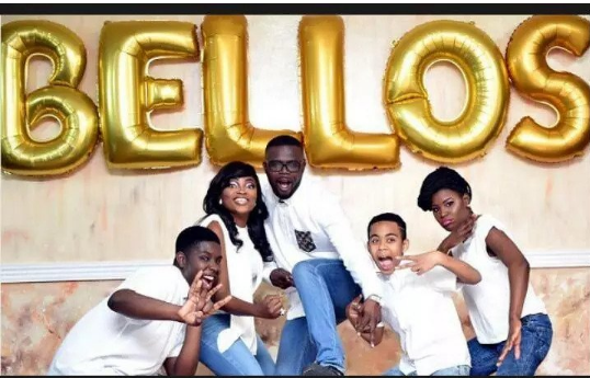 Funke Akindele Gets Celebrated By Her Stepchildren On Mothers Day (Picture)