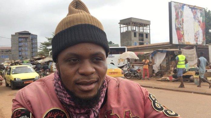 Bike man Ignatius for Yaounde