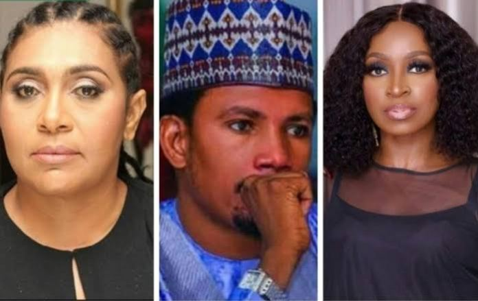Kate Henshaw and Hilda Dokubo kick against the appointment of Elisha Abbo