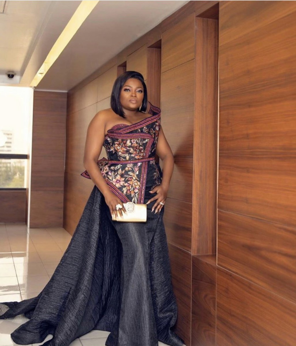 Funke Akindele Clears The Air On Lockdown House Party (Picture)