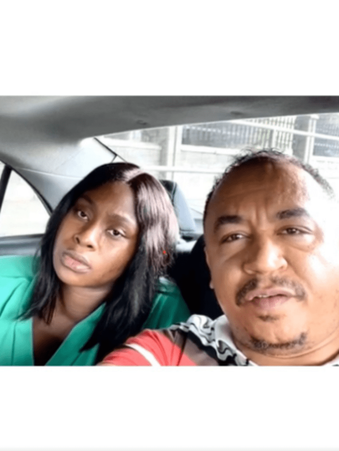 Daddy Freeze and wife