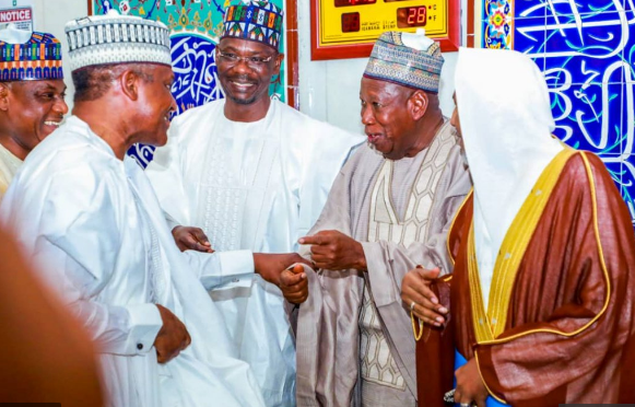 Dangote, Ganduje, Others Attend IGP Son's Wedding In Abuja (Photographs)