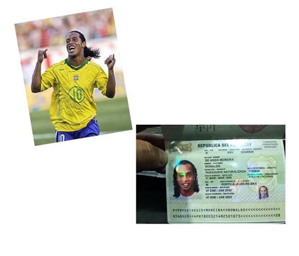 Fake Passport: Football Legend Ronaldinho Released From Jail