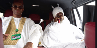 Governor Elrufai and Deposed Emir Sanusi