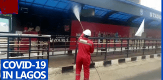 Lagos disinfects motorparks