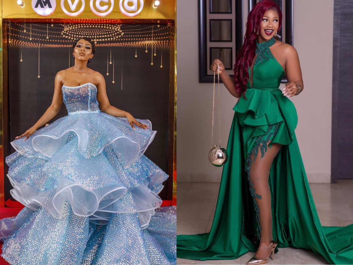 #AMVCA7: Mercy, Tacha Storm Event In Jaw-Dropping Outfits