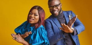 Funke Akindele and Husband
