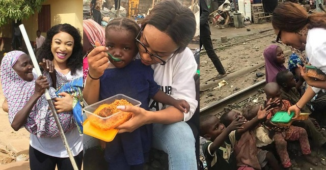 COVID-19: Tonto Dikeh To Feed 5,000 Nigerians (Photograph)