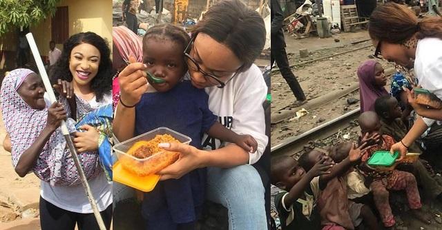 COVID-19: Tonto Dikeh To Feed 5,000 Nigerians (Photograph)