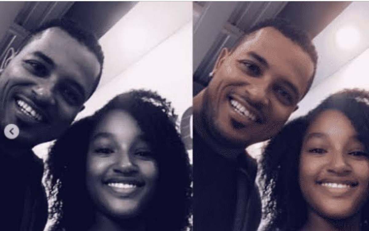 Ghanaian Actor, Van Vicker Celebrates Daughter On Her 14th Birthday