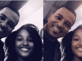 Van Vicker and his daughter