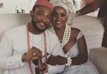 Blossom Chukwujekwu and his ex-wife, Mauren Ezissi