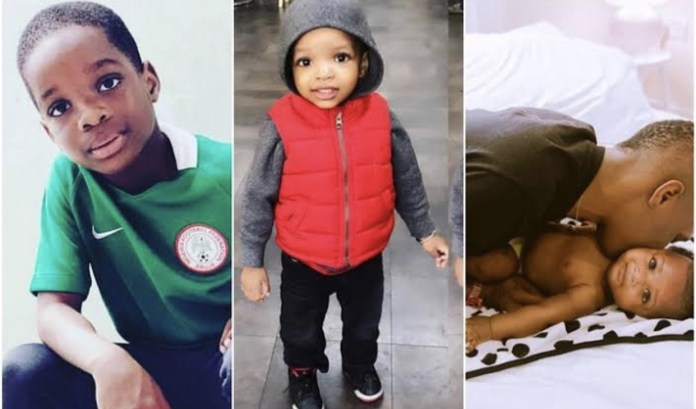 Wizkid and his three sons