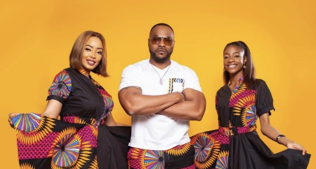 Bolanle Ninalowo and his beautiful family