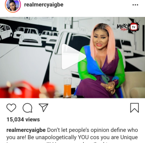 Screenshot 20200523 152919 - 'Don't Let People's Opinion Define Who You Are' – Mercy Aigbe Advises