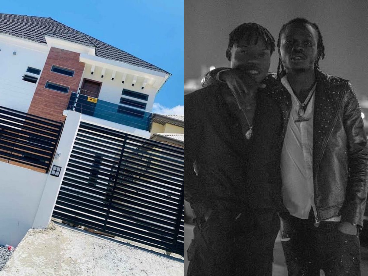 Naira Marley Buys Multi-Million Naira House For His Younger Brother (Video)
